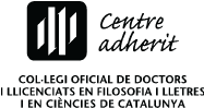 Centre adherit al col·legi oficial de doctors i llicenciats en filosofia i lletres i en ciències de Catalunya